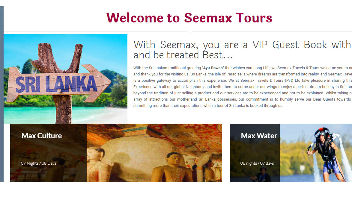 See Max Travels And Tours